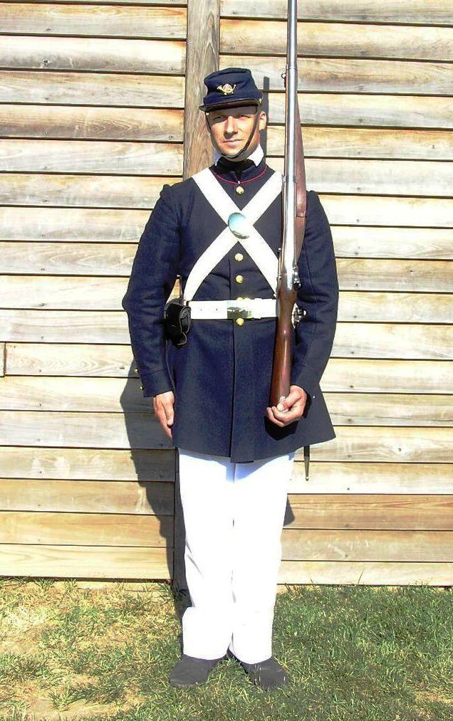 1859 Us Marine Undress Rob S Civil War Amerikanischer