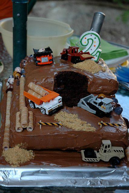 Derek's 1st birthday cake idea.