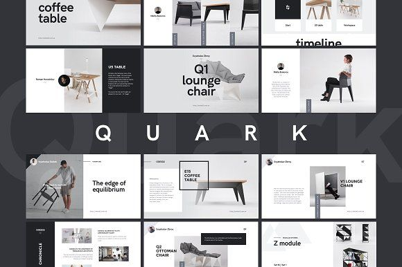 Quark | Special Keynote Template by GoaShape on @creativemarket