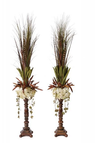 Interior Design Arrangements » Sophisticate-Silks.com - Silk Flower Arrangements that make a Statement!