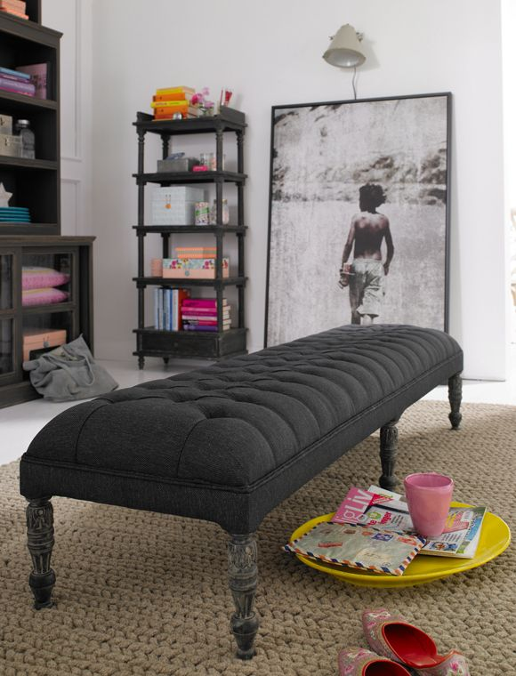 ber ideen zu gepolsterte bank auf pinterest. Black Bedroom Furniture Sets. Home Design Ideas