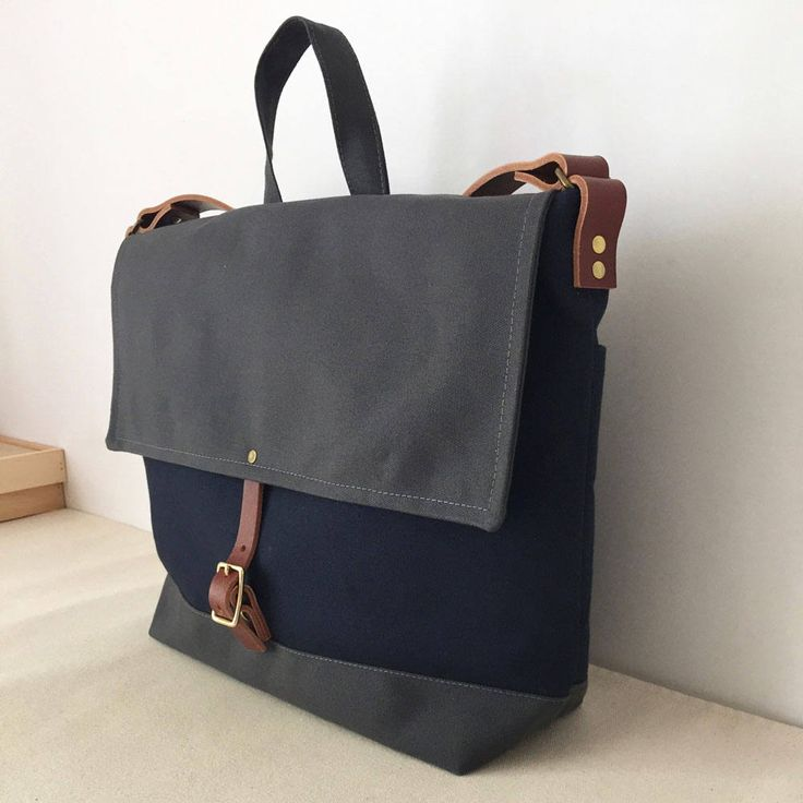 Modern Coup:Courier Bag Handcrafted in Vancouver