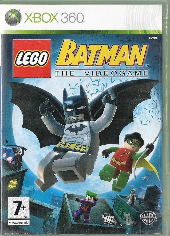 Xbox 360 LEGO Batman: The Videogame  (Xbox One compatible)