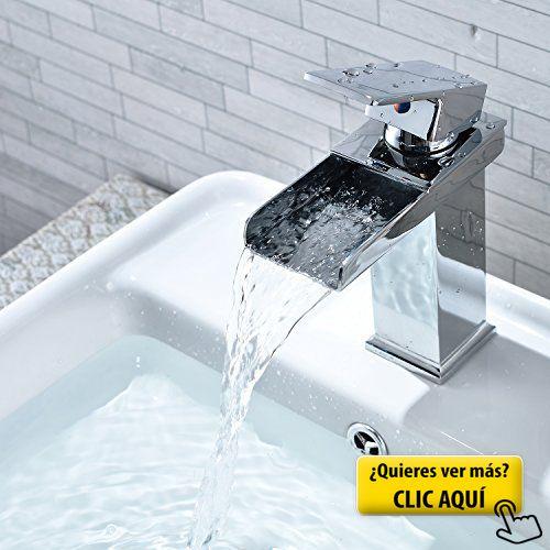 Bathroom Basin Chrome Waterfall Tap Mixer Monobloc Sink Faucet In Home,  Furniture U0026 DIY, Bath, Taps
