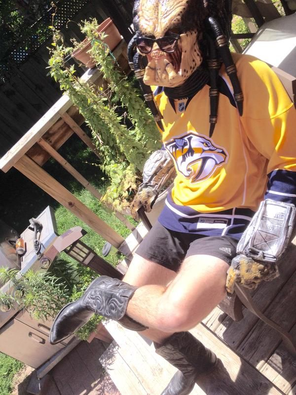 @quintoncatney (Instagram) #StayCoolThisSummer Contest Finalist! #Preds #Hockey #Sunglasses #Monster