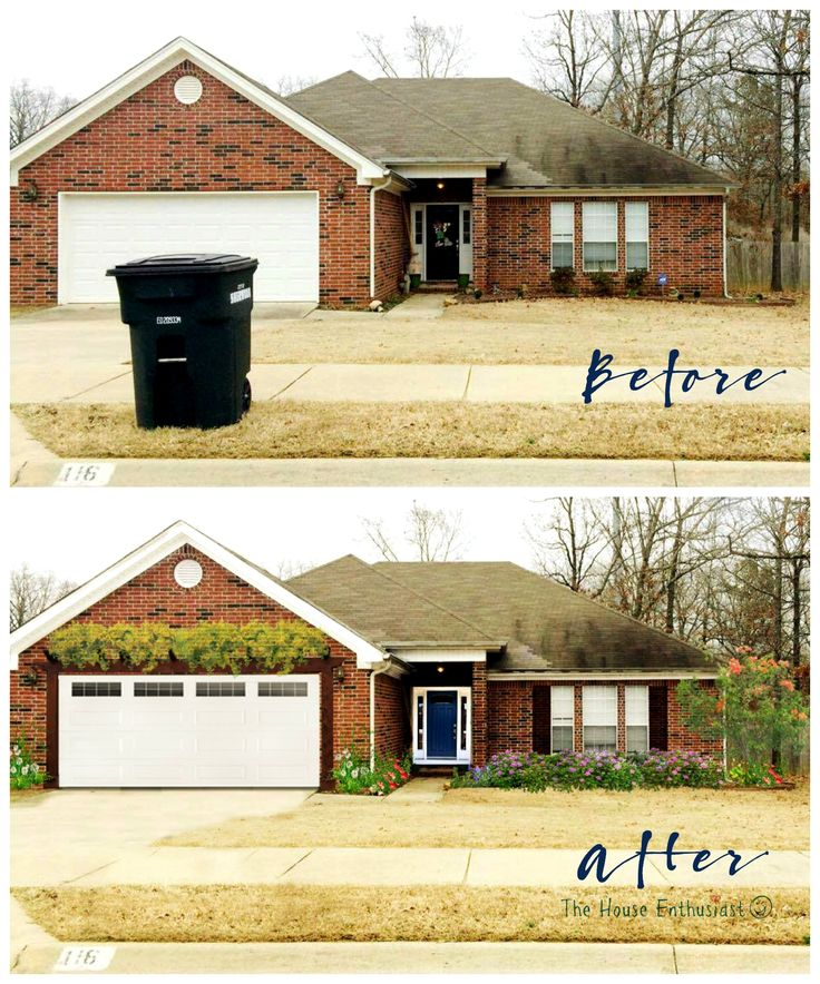 remodelaholic reader wanted some curb appeal ideas for their home