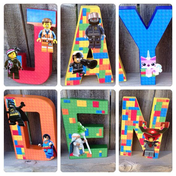 Custom Handmade Lego Movie Themed Bedroom By