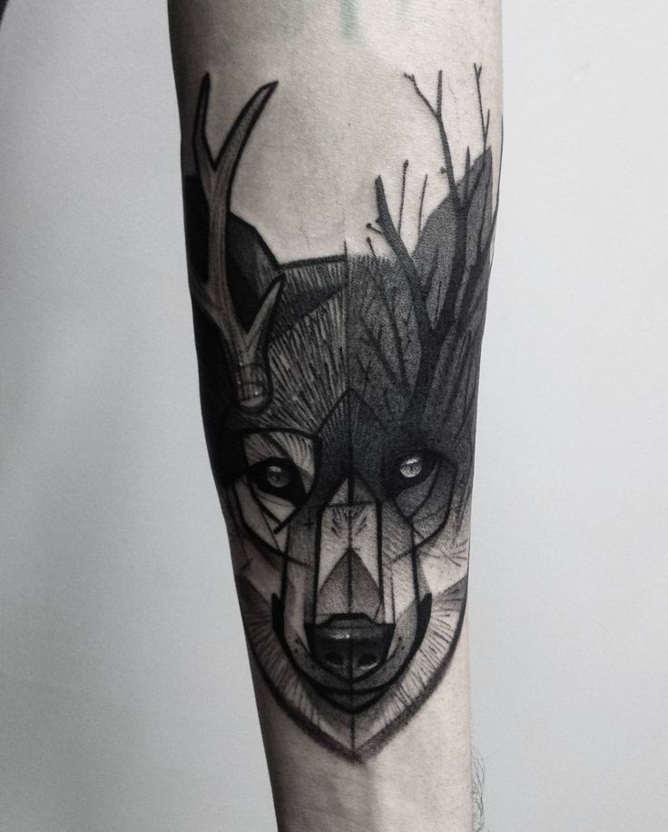 Lovely Lone Wolf Tattoos In Different Styles 2018: 65 Best Images About Wolf Tattoo Ideas On Pinterest