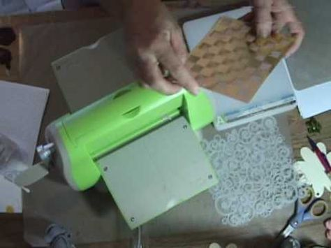 This video shows you how to use your Cuttlebug or other manual die cutting machine to emboss with brass stencils and plastic templates opening up a whole world of new options!