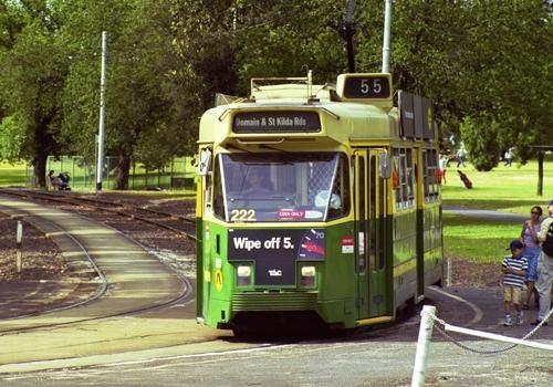MELBOURNE Train & Tram map