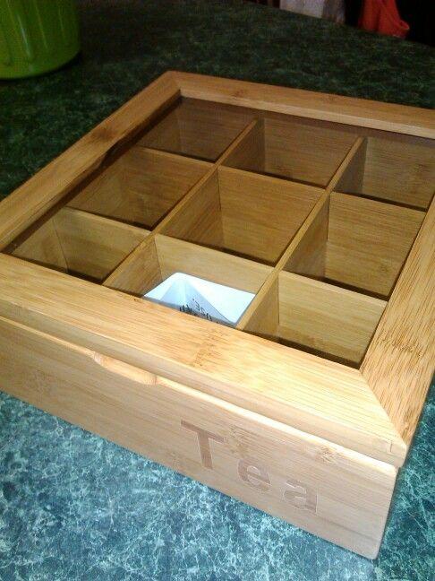 Brand new tea box