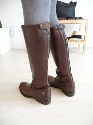 vamp shoes: Frye Melissa Button Back Zip Boot