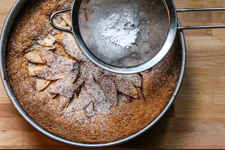 Toetjes als ontbijt: Appeltaart met gezouten karamel