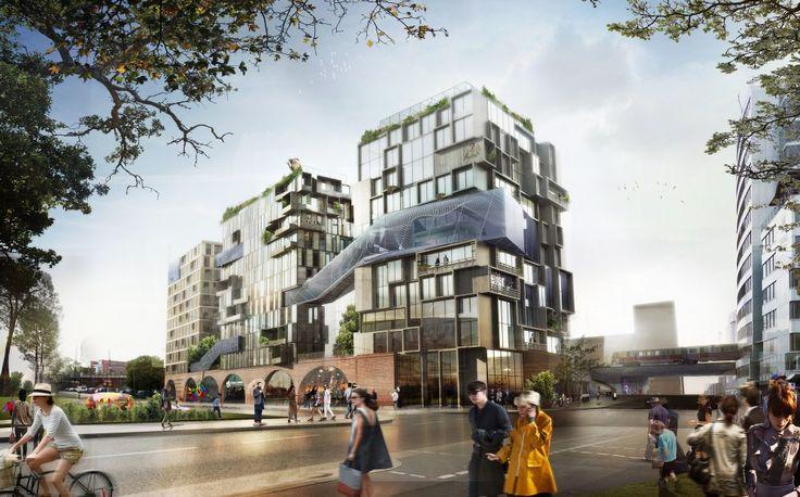 GRAFT + Kleihues+Kleihues Design Work/Live Housing in Berlin