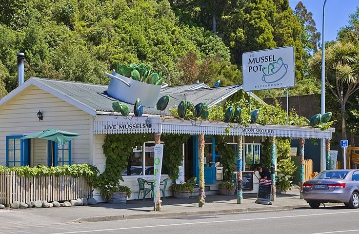 The Mussel Pot Restaurant,Havelock,  see more at New Zealand Journeys app for iPad www.gopix.co.nz