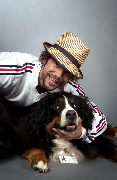 Jamiroquai : nice pic-cute dog-lovely hat;D