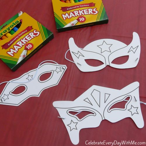 Awesome Superhero Party Games | Celebrate Every Day With Me
