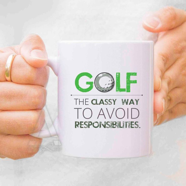 Golf mug, golf gifts for men, gifts for golfers, unique golf gifts, cool golf…