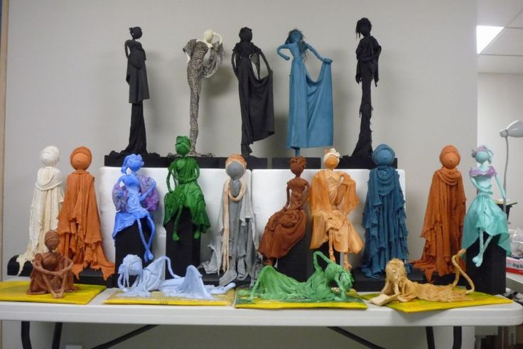 Paverpol scultures - you can learn to make these!