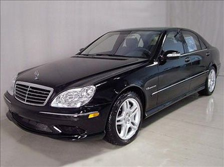 Mercedes S55 AMG....Carlisle's car in Twilight movies