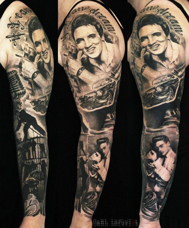 +++. . . . Epic Elvis Sleeve by Carl Lofqvist