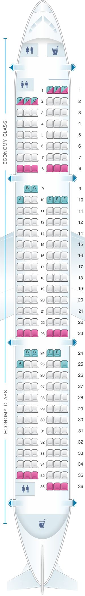 The 25+ best Airbus a321 seating chart ideas on Pinterest ...