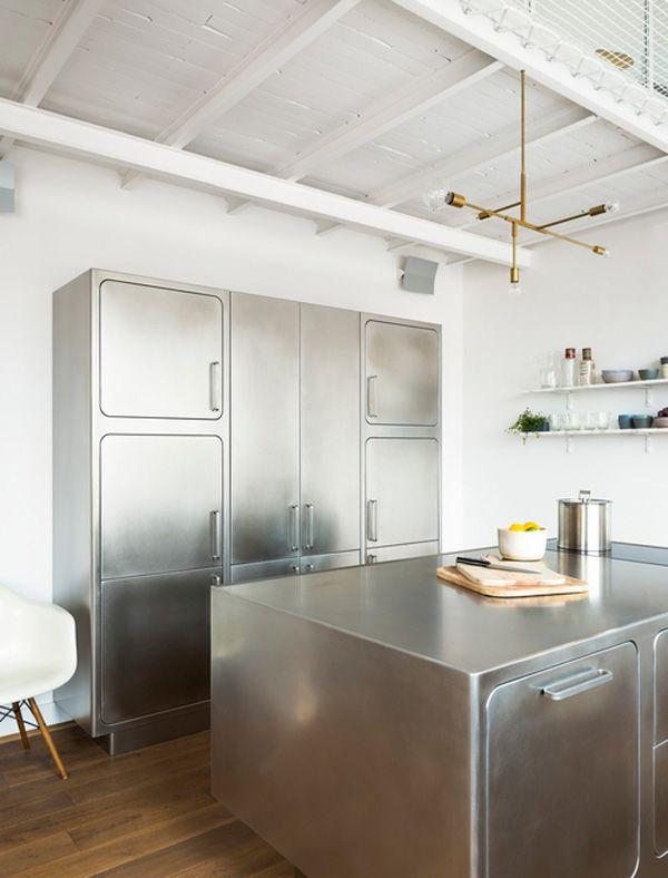 festen stainless kitchen by abimis