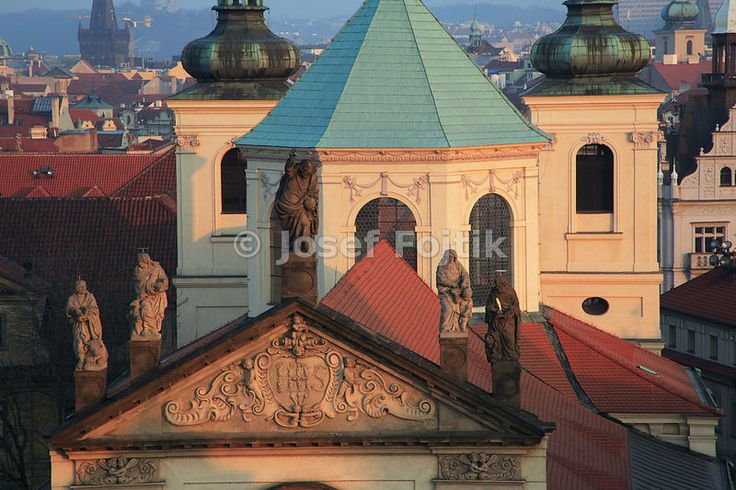 Church of the Most Holy Saviour in Klementinum, Prague, Czech Republic - Travel, Sightseeing, Tourism
