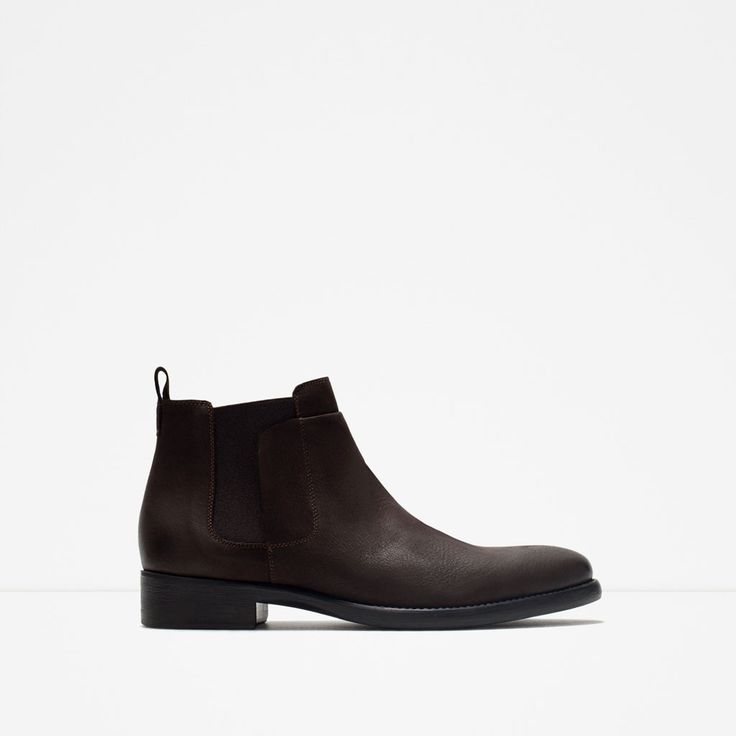 ZARA - MAN - LEATHER CHELSEA BOOTS