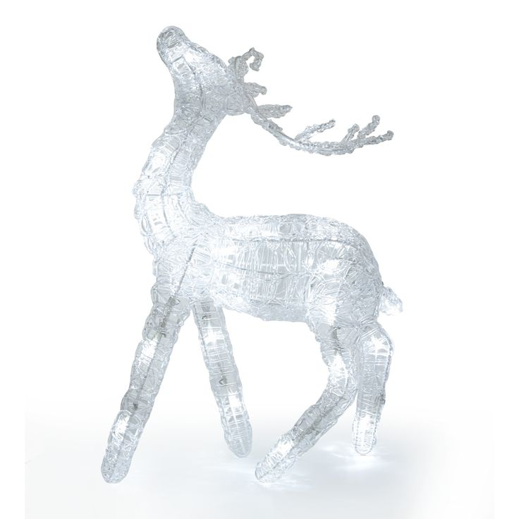 Small Lit Reindeer at Laura Ashley