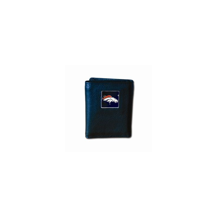 NFL Broncos Tri-fold Wallet - Embossing Personalized Gift Item