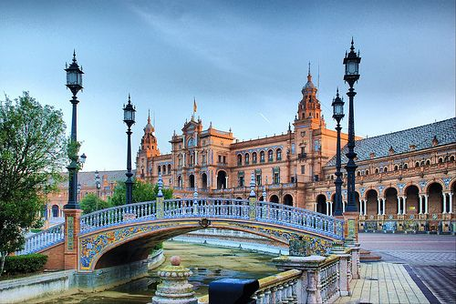 Seville. Ok, I have been here before. Recognize it? It was used in filming Star Wars! Would love to go back and spend more time.