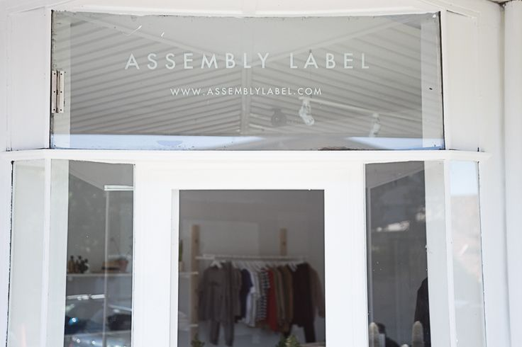 Assembly Label Store Bondi, 221 Bondi road . www.assemblylabel.com