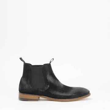 Morena Gabbrielli D2474 Chelsea Boot Black Suede