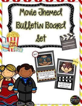 Hollywood and Movie Themed Bulletin Board Set, Celebration