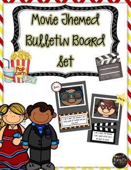 Hollywood and Movie Themed Bulletin Board Set, Celebration