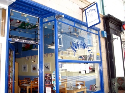 Margot's Bistro at Padstow - my favourite restaurant - especially the seafood chowder