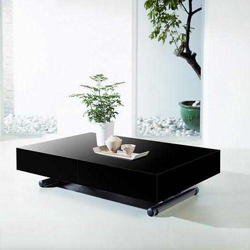 Table Basse Relevable et Extensible Elevator