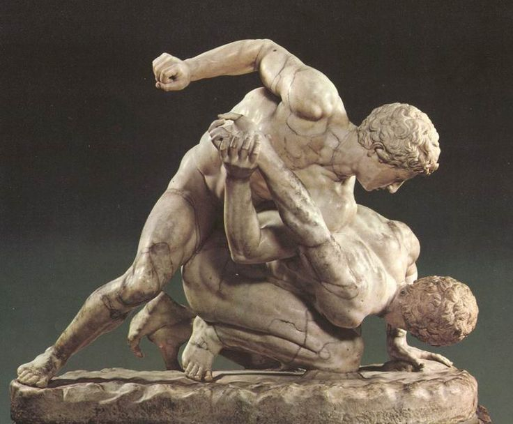 Pankration - the ancient Greek version of jiu jitsu