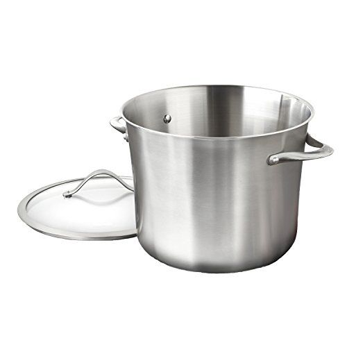 Calphalon Contemporary Stainless Steel 12 Quart Stockpot // http://cookersreview.us/product/calphalon-contemporary-stainless-steel-12-quart-stockpot/  #cooker #pressure #electric