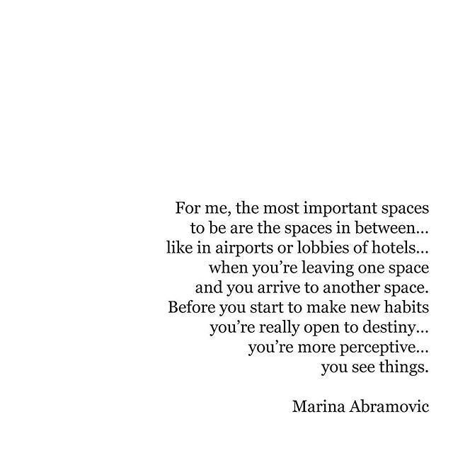 Couldn't be more true! What's your favourite space? #travelintoliving