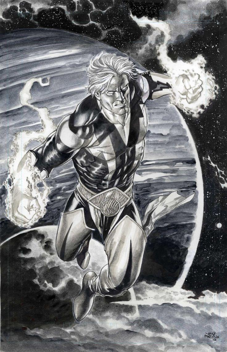 Guardians of the Galaxy Adam Warlock by Lan Medina Comic Art