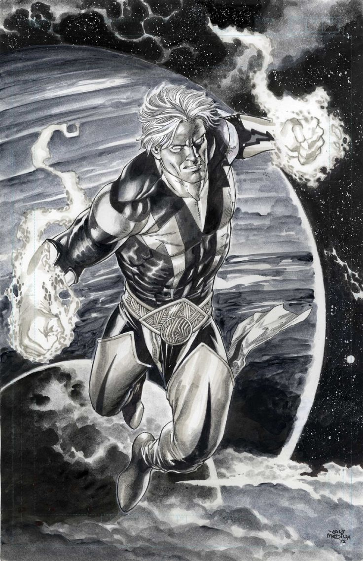 Guardians of the Galaxy Adam Warlock by Lan Medina