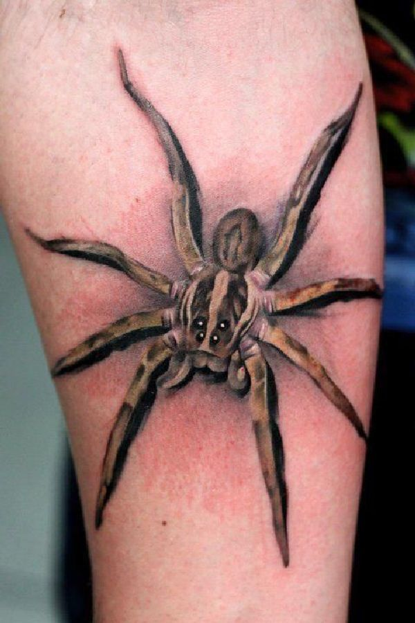 1000 ideas about spider tattoo on pinterest tattoos - Wicked 3d tattoos ...