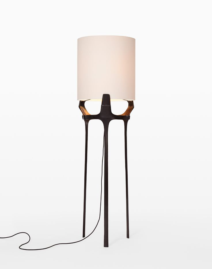 french lighting designers. The Flint Floor Lamp Of Bronze With A French Paper Shade By CASTE For Holly Hunt. Available At DD Building Suite Lighting Designers