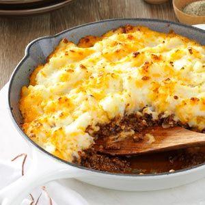 Speedy Shepherd's Pie Recipe from Taste of Home -- shared by Sharon Tipton of Winter Garden, Florida