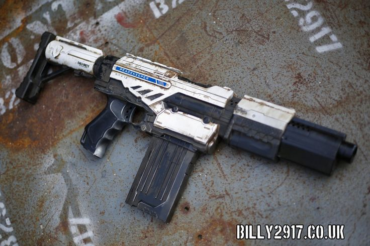 Nerf Call Of Duty Peacemaker By Billy2917 Deviantart Com