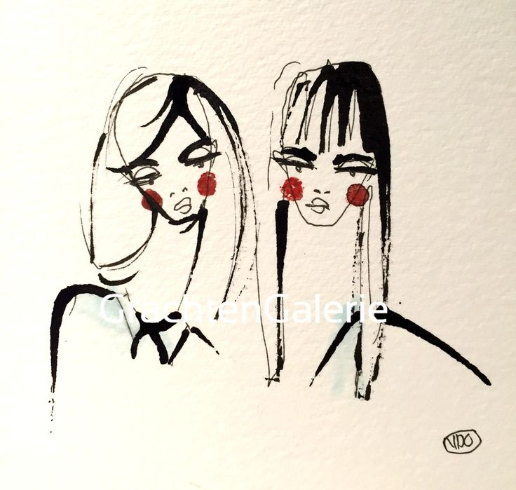Noortje den Oudsten | Lady present 3 | illustratie | kunst | mode | women | aquarel | ilustration | art | fashion