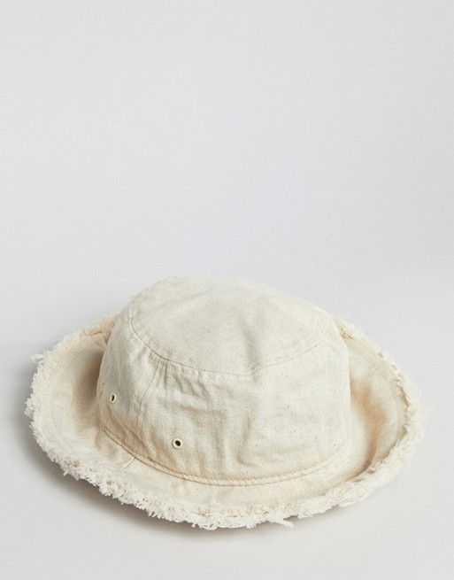 90c5982cf4953 Weekday Bucket Hat In Ecru in 2019