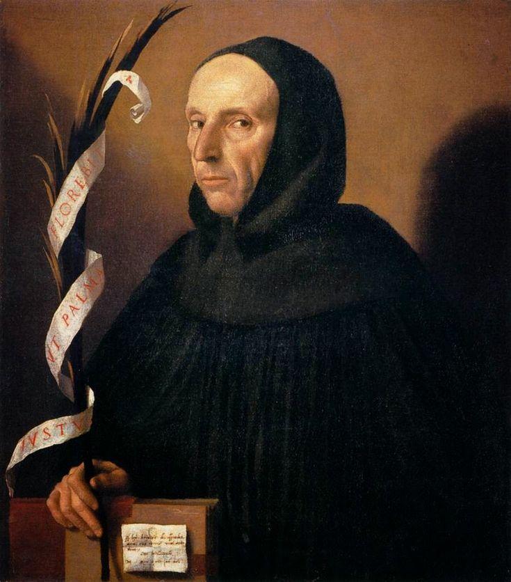 Savonarola.jpg Моретто Алессандро да Брешиа(около 1498-1554)-выдающийся итальянский живописец эпохи Высокого Возрождения